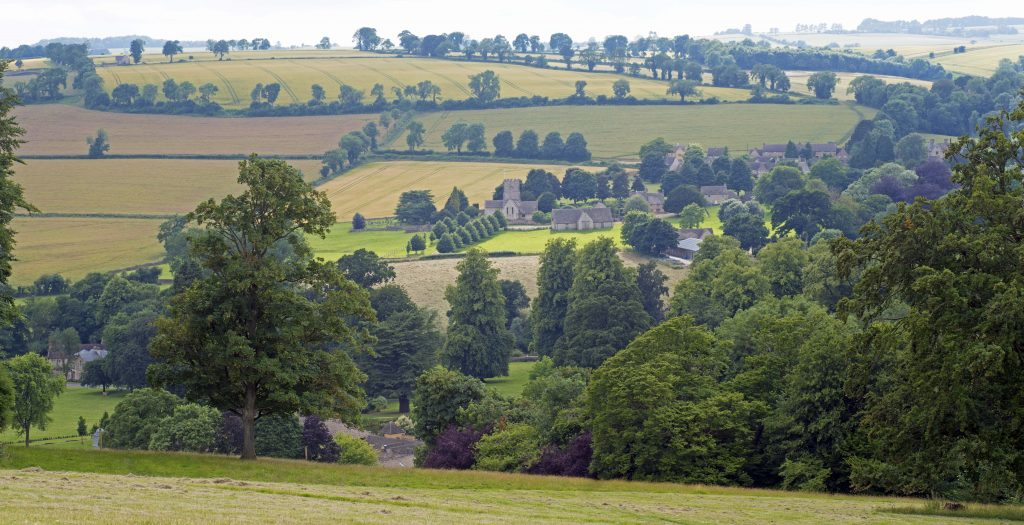 photo of Guiting Power landscape